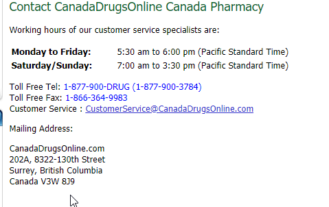 CanadaDrugsOnline