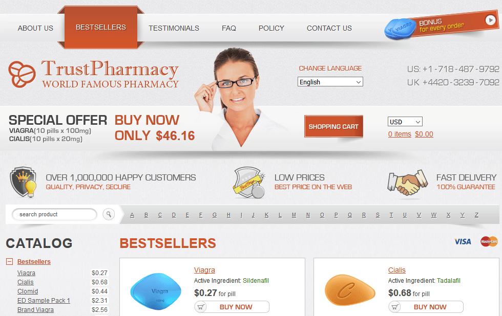 Trust Pharmacy Store Front
