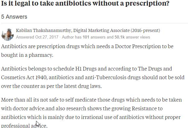 Purchasing Antibiotics Legally