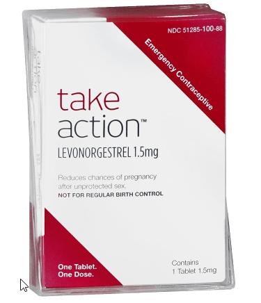 Take Action Pill Coupon