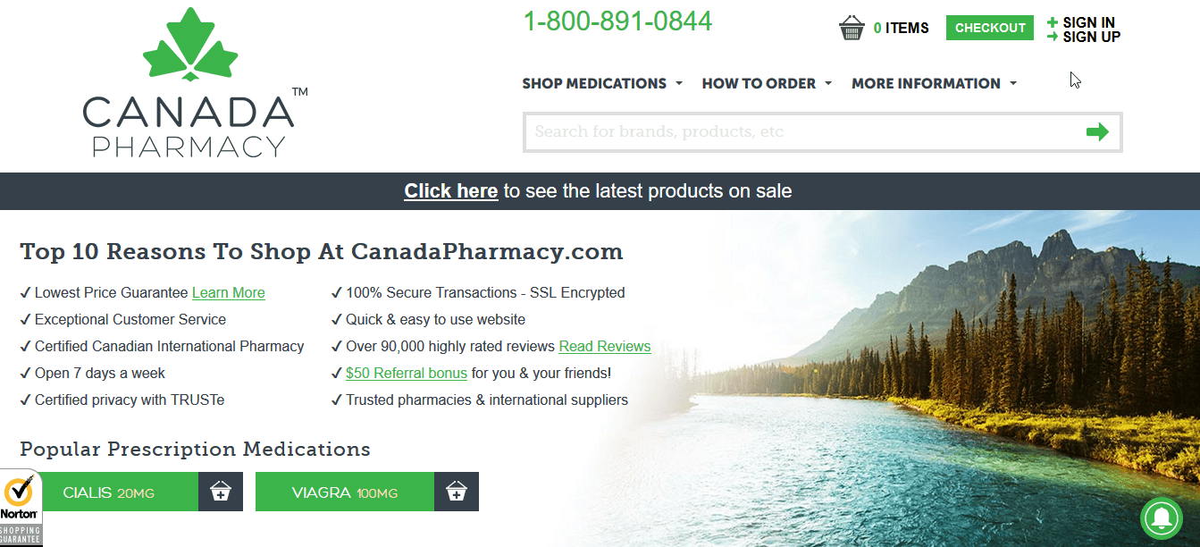 Canada Pharmacy – Another Canadian Online Shop with Great Reviews