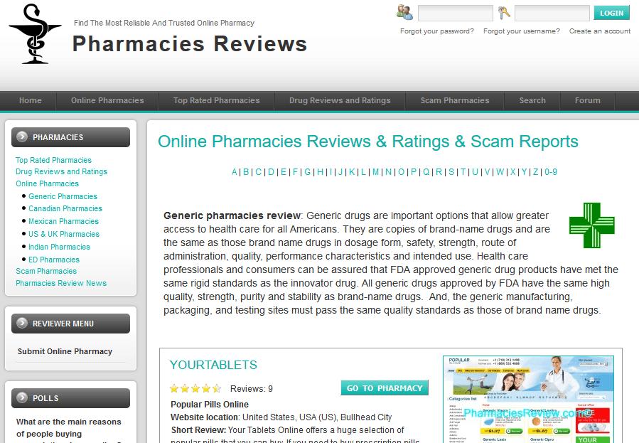 Pharmacies Review