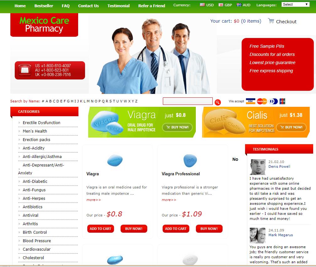 Online Pharmacy Mexico