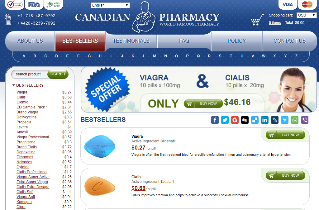 To further prove this, the following comments from people who order their meds from Canadian Stores will give you more confidence when you are placing your order: